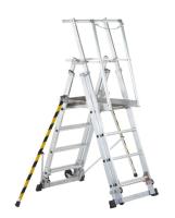 Plattformstige justerbar 1,8 m ZAP