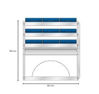 Bilinnredning modul S25