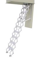 Brannsikker loftstrapp aluminium E90