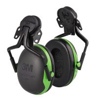 Hørselsvern til hjelm - Fluor Grønn