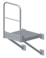 Plattform 80x86cm - galvanisert
