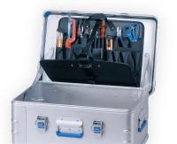 Verktøymappe kasse 2-sidig 435x260 mm