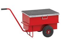 Verktøyvogn 2-hjul låsbar 160 liter