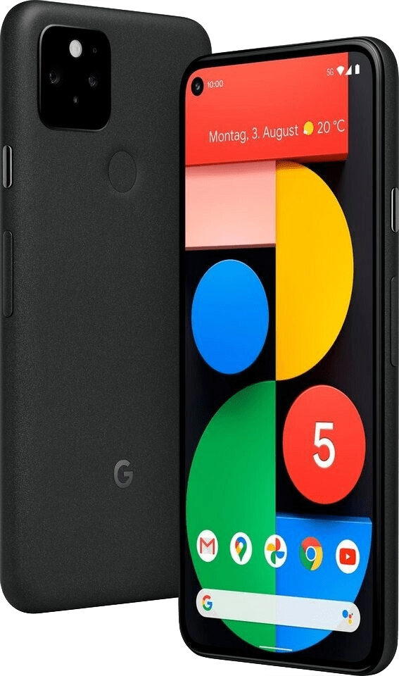 Rent Google Pixel 5 128GB from €29.90 per month