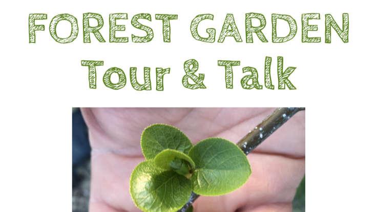 Screenshot of Forest Garden tour poster