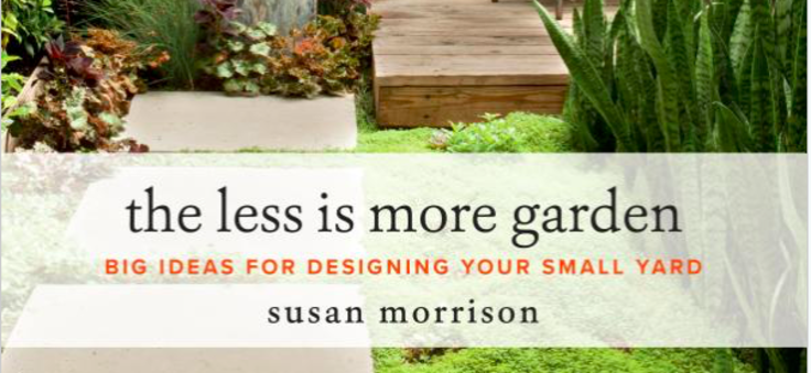 Screenshot of The Less is More garden book