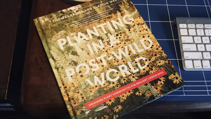 Cover of book Planting in a Post Wild World