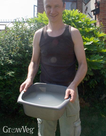 Reusing grey water