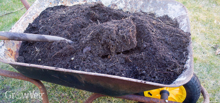 Adding compost can improve any type of garden soil.