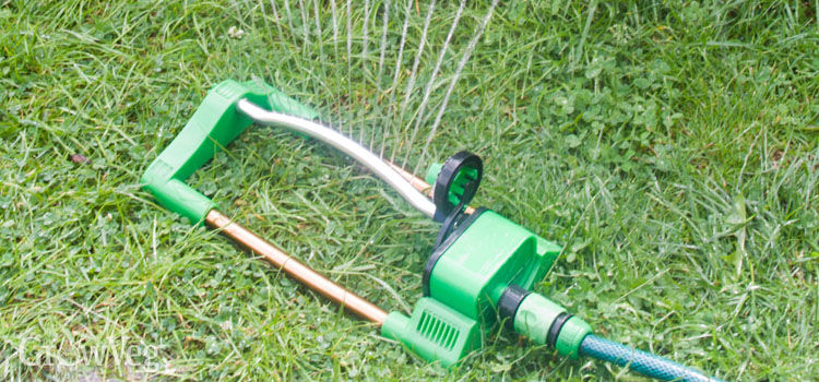 Sprinklers are a wasteful way to water your garden