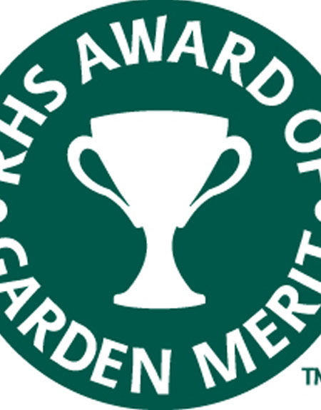 The Award of Garden Merit (AGM) from the Royal Horticultural Society