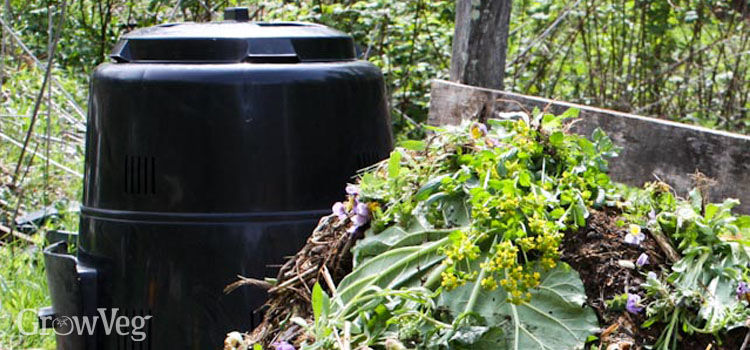 Composter pile