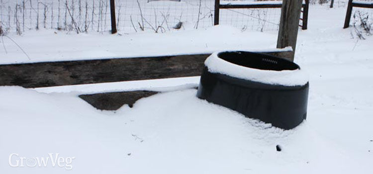 Composting in winter