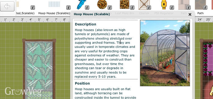 Hoop house information