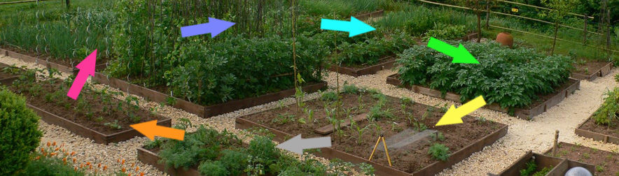 Easy Crop Rotation Using the Colours of the Rainbow