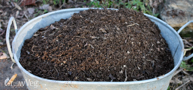 Curing compost made using hot composting methods