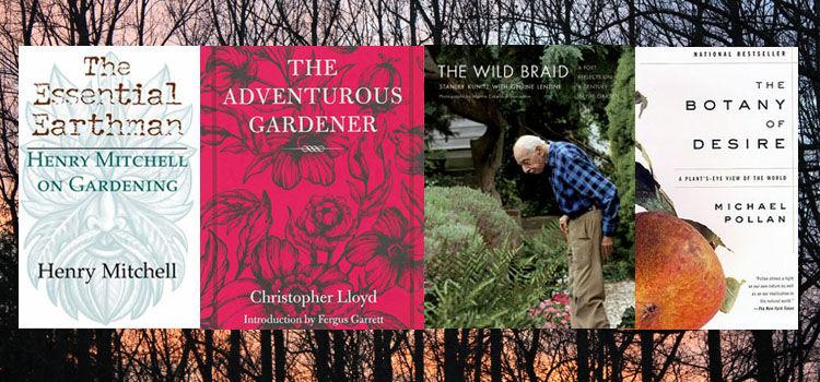 Four classic gardening books