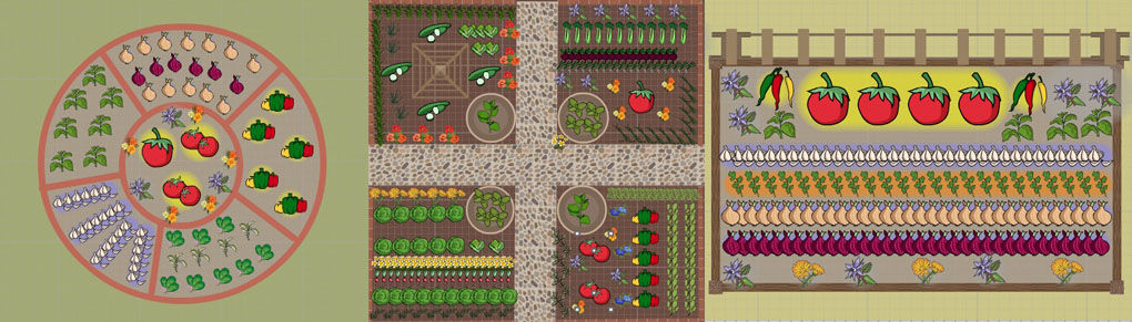 3 Recipe-Themed Garden Plans