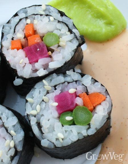 """""""Sushi,"""