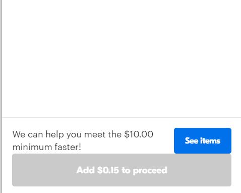 $10 min
