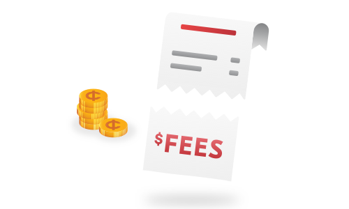 Save on fees