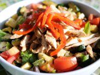 grilled vegetable and chicken salad - Rachels Kitchen Menu