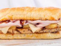 recipe: earl of sandwich bbq chicken flatbread [25]