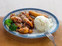 sesame chicken - Delicious Garden