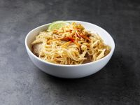 Asian peanut sauce beansprouts tofu Completely share