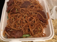 Chicken chow mein lunch plate - Yelp