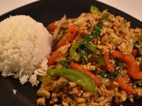 Basil Stir Fry With Rice Combo