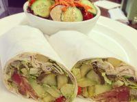 avocado wrap - Continental Kitchen