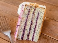 Marionberry Poppyseed Cake Slice Contains Dairy Eggs And Wheat