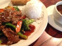 85 beef with broccoli - North China Garden