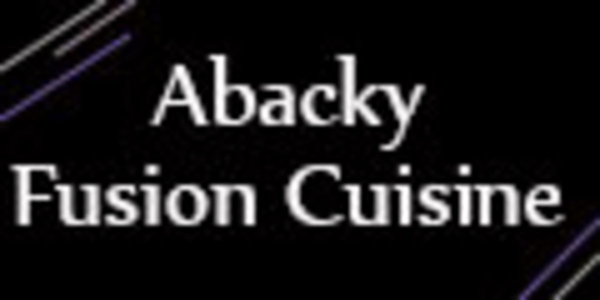 Cain suck abacky fusion cuisine bitch
