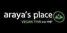 Araya's Place Menu