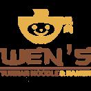 Wen's Yunnan Noodle & Ramen Menu