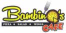 Cafe Bambino's Menu