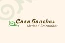 Casa Sanchez Menu