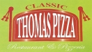 Classic Thomas Pizza Restaurant Menu