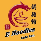 E Noodle Cafe Menu