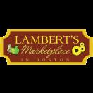 Lambert's Marketplace Menu