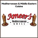 Ameers Mediterranean Grill Menu