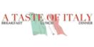A Taste Of Italy Menu