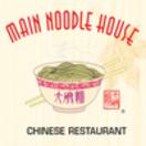Main Noodle House Menu