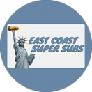 East Coast Super Subs Menu