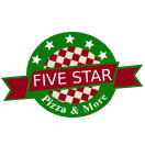 Five Star Pizza Menu