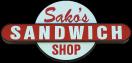 Sako's Sandwich Shop Menu