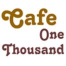 Cafe One Thousand Menu