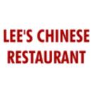 Lee's Chinese Restaurant Menu